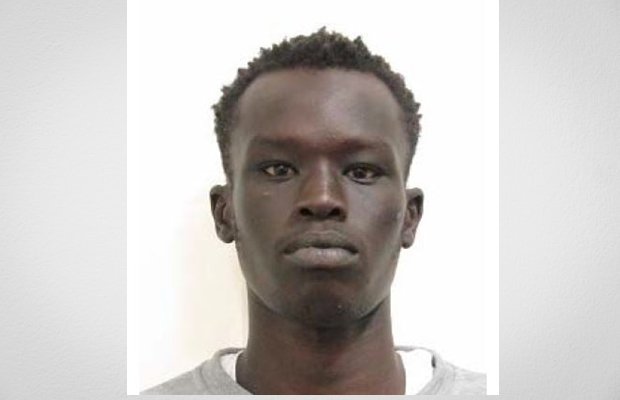 Marco Deng is suspected of stabbing Machar Kot on Monday.