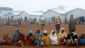 Refugee camp in Uganda
