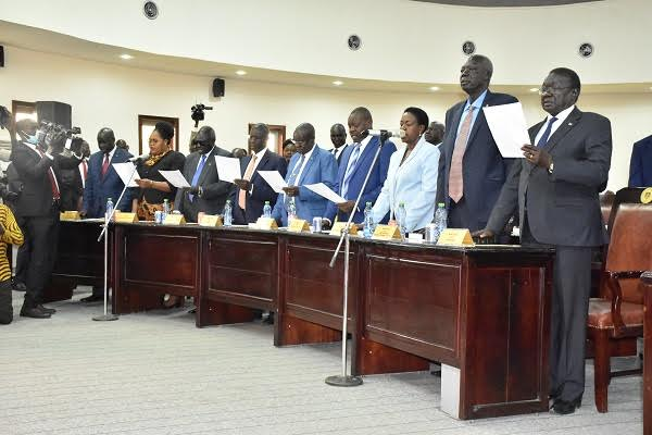 South Sudan council of ministers